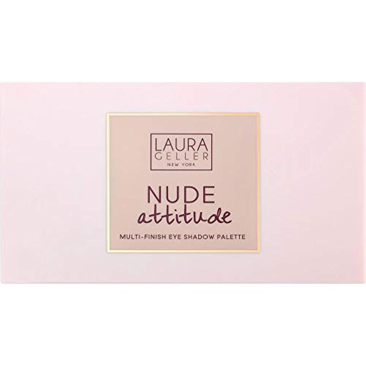 盗賊血まみれ[Laura Geller ] ローラ?ゲラーヌード態度マルチフィニッシュアイシャドウパレット12×1.1グラム - Laura Geller Nude Attitude Multi-Finish Eye Shadow...
