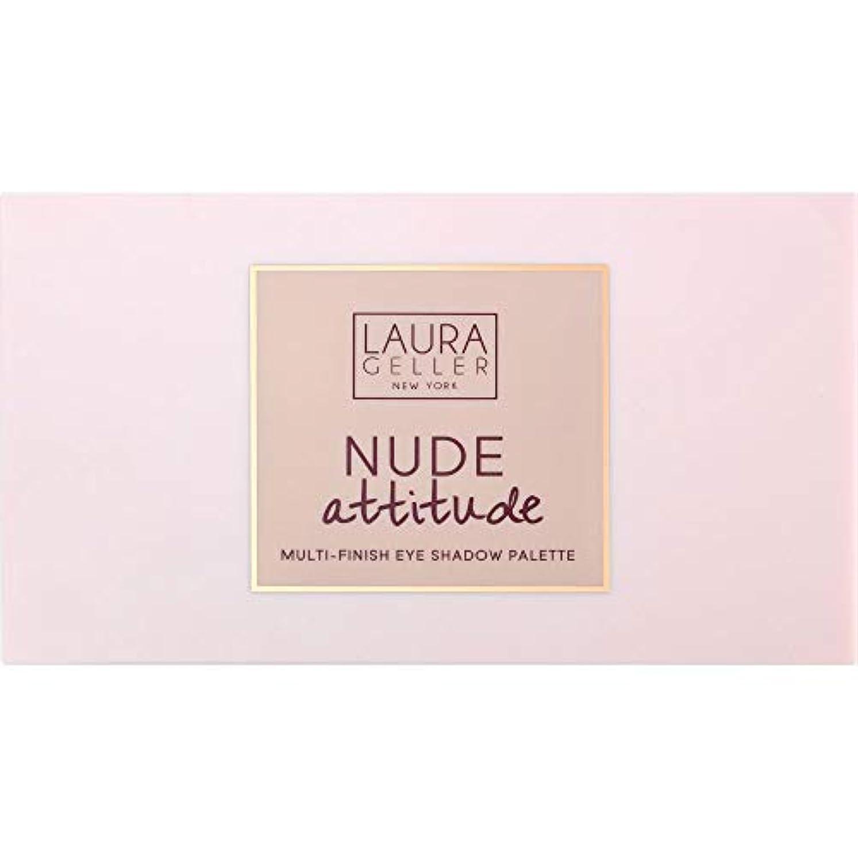 理解する太鼓腹キュービック[Laura Geller ] ローラ?ゲラーヌード態度マルチフィニッシュアイシャドウパレット12×1.1グラム - Laura Geller Nude Attitude Multi-Finish Eye Shadow Palette 12 x 1.1g [並行輸入品]