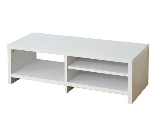 Frama Furniture(フラマファニチャー) 低ホルムアルデヒド リビングボード幅108(42V対応テレビボード兼用) ホワイト KSS-0065WH