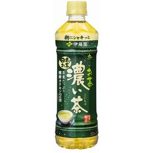 お〜いお茶 濃い味 525ml ×24本