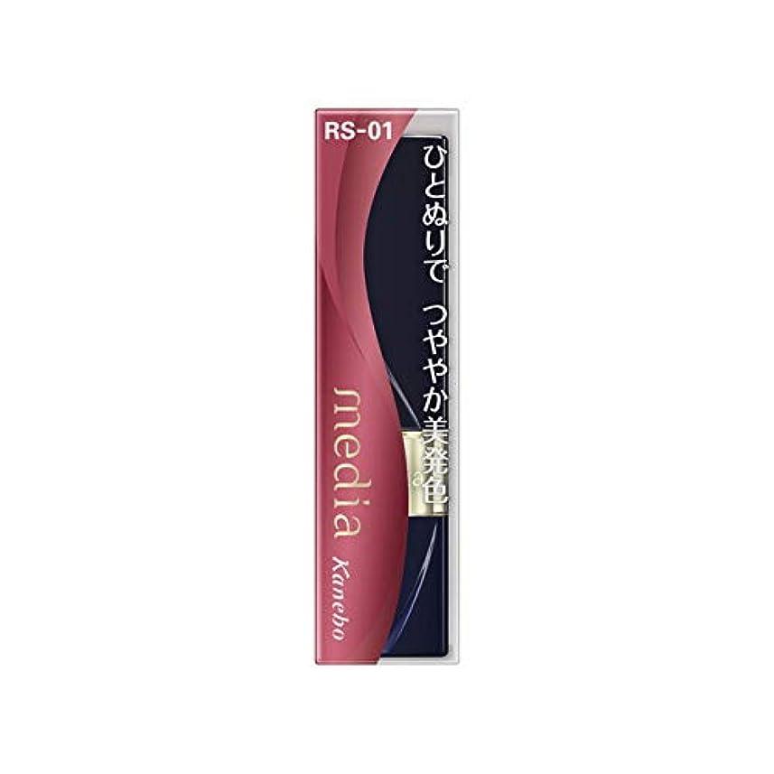敬礼コンサルタント嫉妬カネボウ メディア ブライトアップルージュ RS-01(3.1g)
