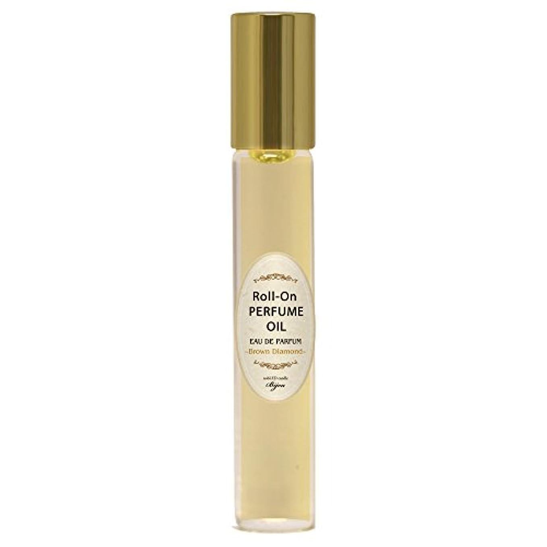 アレルギー優れましたふさわしいnobLED candle Bijou ロールオンパフュームオイル ブラウンダイアモンド Brown Diamond Roll-On PERFUME OIL ノーブレッド キャンドル ビジュー