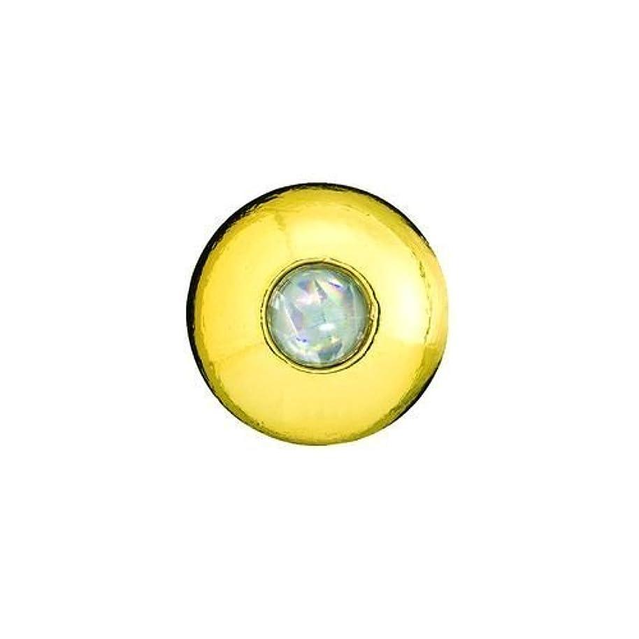 賢いモバイル日光ハヤブサ(Hayabusa) タイラバ 無双真鯛フリースライド 真鯛専用テンヤ玉 潮斬鯛玉 18号 P560 メタリックゴールド #1 1個