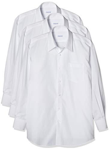 [スティングロード] 男子スクールシャツ 3枚セット 男子 長袖 学生用 スクールシャツ 3枚組 形態安定 制服 Yシャツ カッターシャツ MA3100-AM-3
