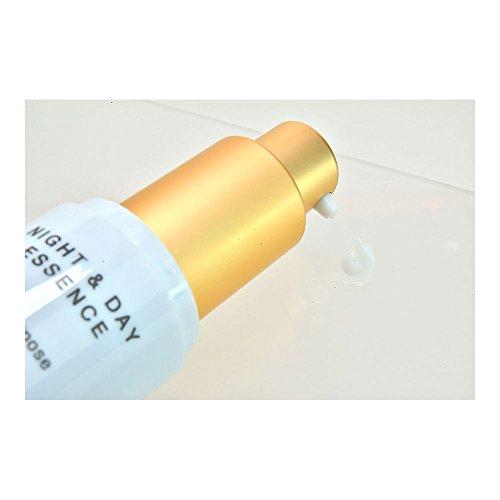 MAMEW ナイト&デーエッセンス-化粧下地/美容液-くずれ防止・てかり防止・保湿-EGF配合-30ml