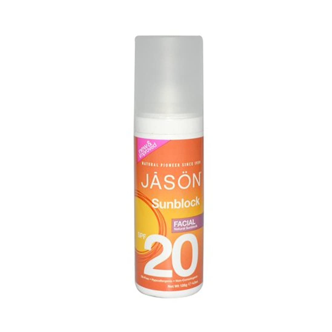 法王世界的に形成THREE PACKS of Jason Bodycare SPF 20 Facial Block 128g [Misc.] / THREE????????????????SPF 20??????128???[ Misc. ]