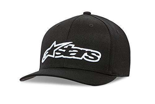 alpinestars(アルパインスターズ)キャップ ブラック/ホワイト (S/M) ブレイズ フレックスフィットハット