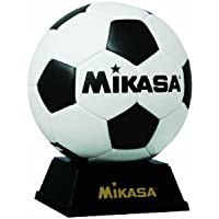 ミカサ 記念品マスコット サッカーボール ボール台付 化粧ケース入 PKC2 W/BK
