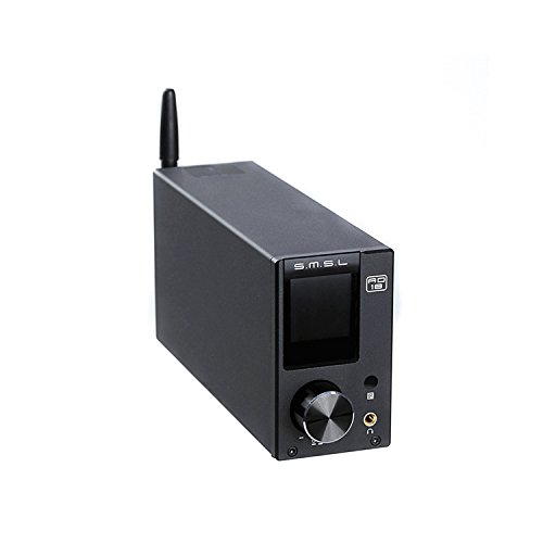 Gemtune SMSL AD18 デジタルアンプ 80W USB BT4.2 USB,光ファイバー/同軸入力 リモコン