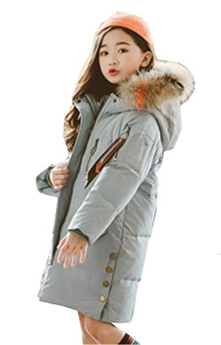 1afdf236060ea GuDeKe 女の子 ガールズ ダウンコート ロング 子供 ダウンジャケット 綿服 アウター 厚手 キッズ服 フード