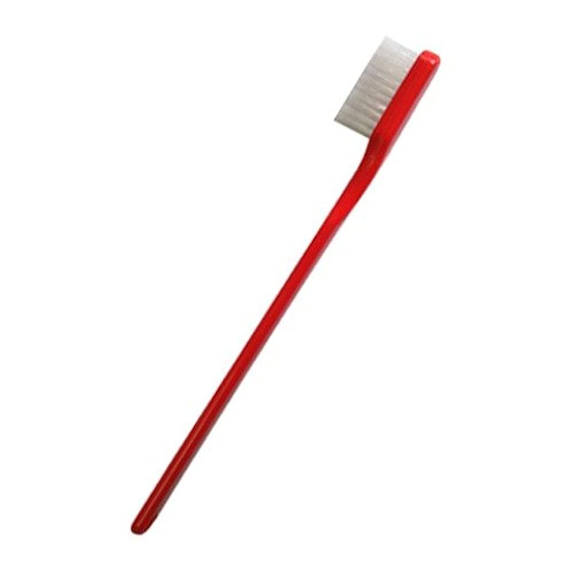 抑制マスタード突き出すPHB 歯ブラシ 大人用 レッド