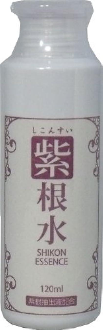クローゼット険しい農夫紫根水 (シコンエキスエッセンス) 120ml ×5個セット
