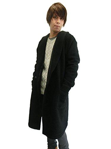 (ジュンハシモト) junhashimoto ガウン コート WOOL JERSEY DRESSING GOWN メンズ 《 1051720001 BLACK 》 4 L