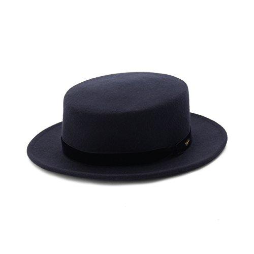 (パサージュ ミニョン) passage mignon ベロアリボンフェルトカンカン帽 C9829011 00 ネイビー(093)