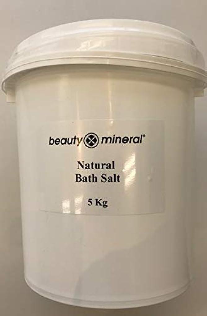 幹期待する小屋Beauty Mineral デッドシー?バスソルト(ナチュラル)業務用 5kg