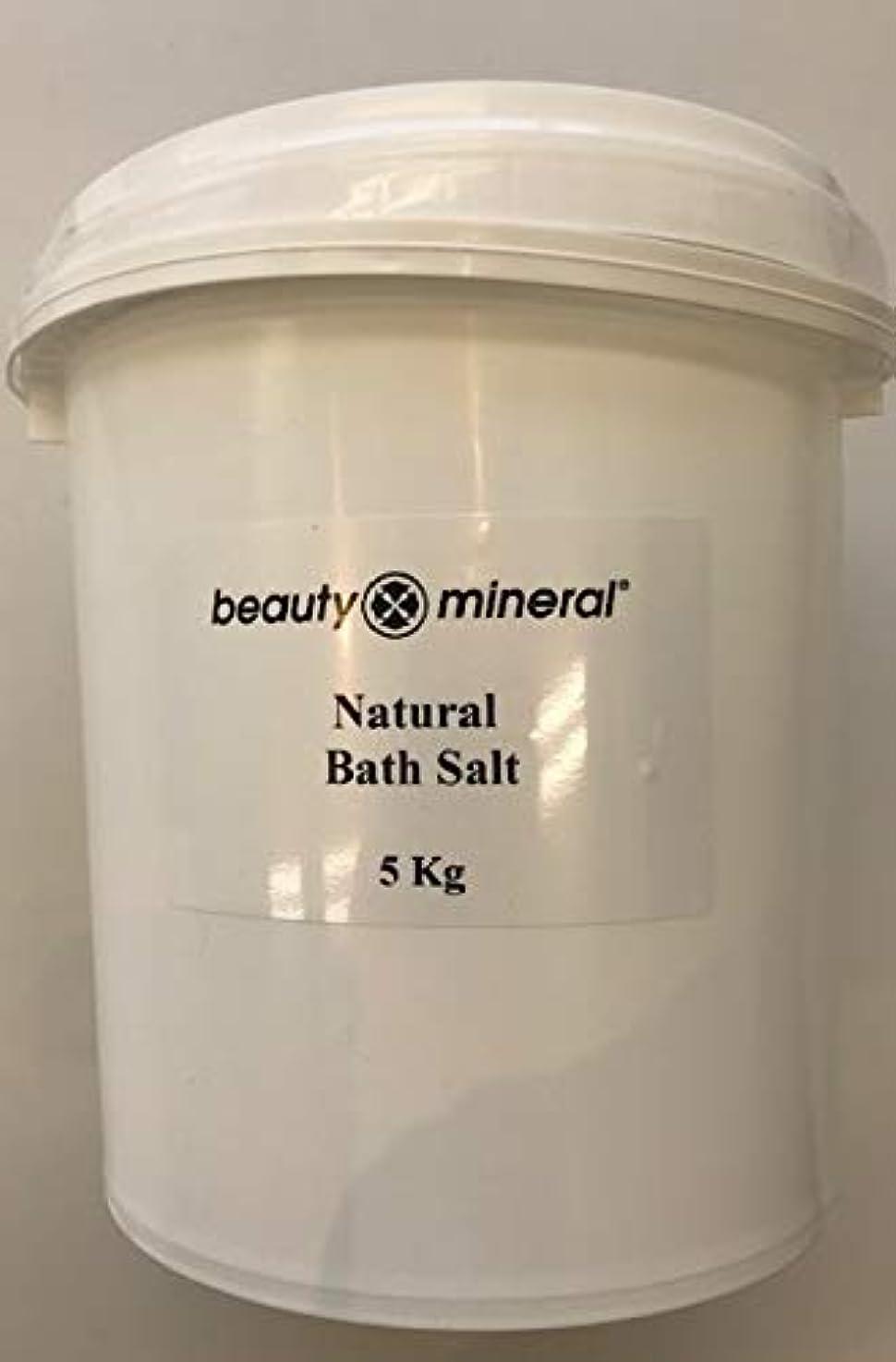 トラック専制宣教師Beauty Mineral デッドシー?バスソルト(ナチュラル)業務用 5kg