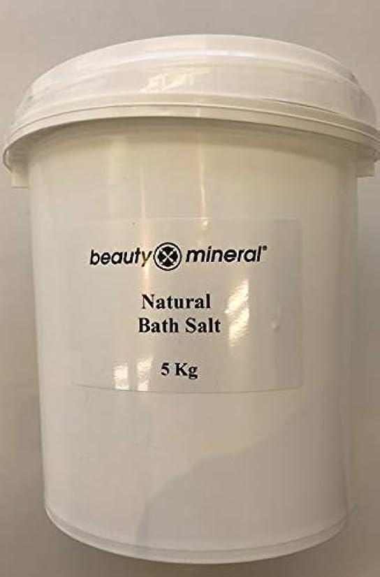 祈り吸収剤上流のBeauty Mineral デッドシー?バスソルト(ナチュラル)業務用 5kg