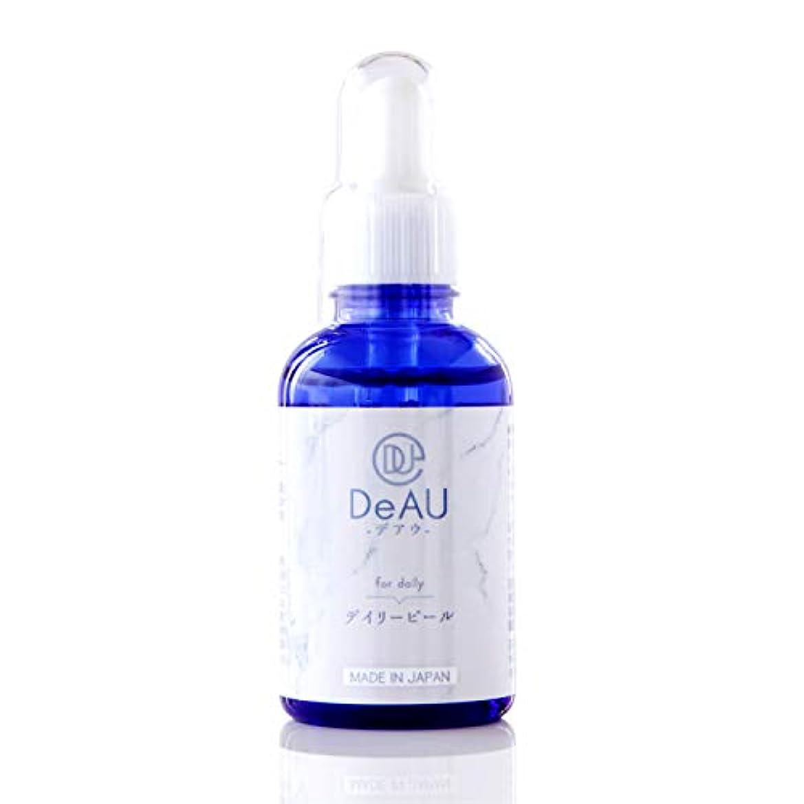 原稿フォーク必要条件DeAU デアウ デイリーピール 角質柔軟美容液