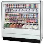 Federal Industries rssm-678sc Specialty表示高プロファイルself-serve Refriger