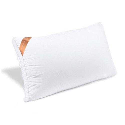 AYO 枕 安眠 人気 肩こり 快眠枕 高級ホテル仕様 安眠枕 高反発枕 横向き対応 丸洗い可能 立体構造43x63cm 家族のプレゼント おすすめ ホワイト