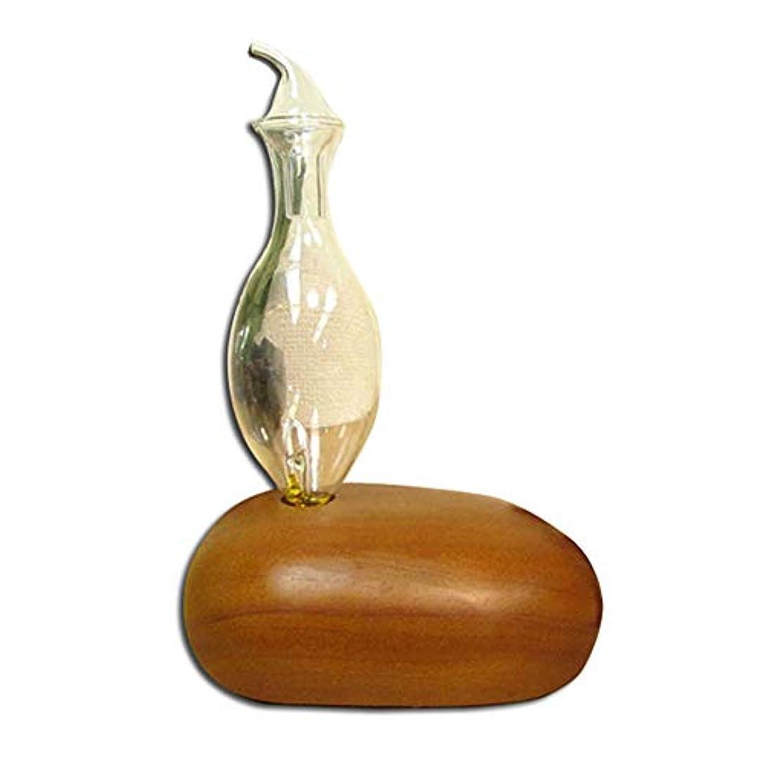 スタックおいしい雰囲気アロマオイル/ピュア100% 専用アロマディフューザー WOOD エッセンシャルオイルディフューザー ピュアオイル ガラス 木製 木目