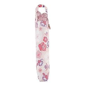 小川(Ogawa) 折りたたみ傘 マイメロディ/和の花 親骨の長さ:55cm キャラクターアンブレラフェイス 18009