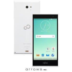 富士通 SIMフリースマートフォン arrows M02(ホワイト) FARM0600E(M02シロ)
