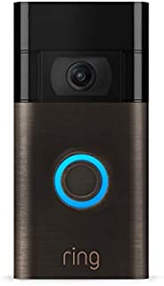 All-new Ring Video Doorbell – Ring's #1 selling video doorbell – Venetian Bronze – 2020 rel