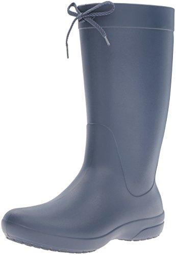 [クロックス] クロックス フリーセイル レイン ブーツ ウィメン  203541 Navy W10(26.0cm)