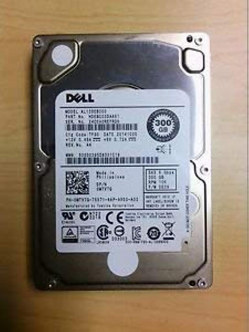 最大化する構造予感0MTV7G Dell - 300GB 10K SAS 2.5インチ HD (認定リファービッシュ品)