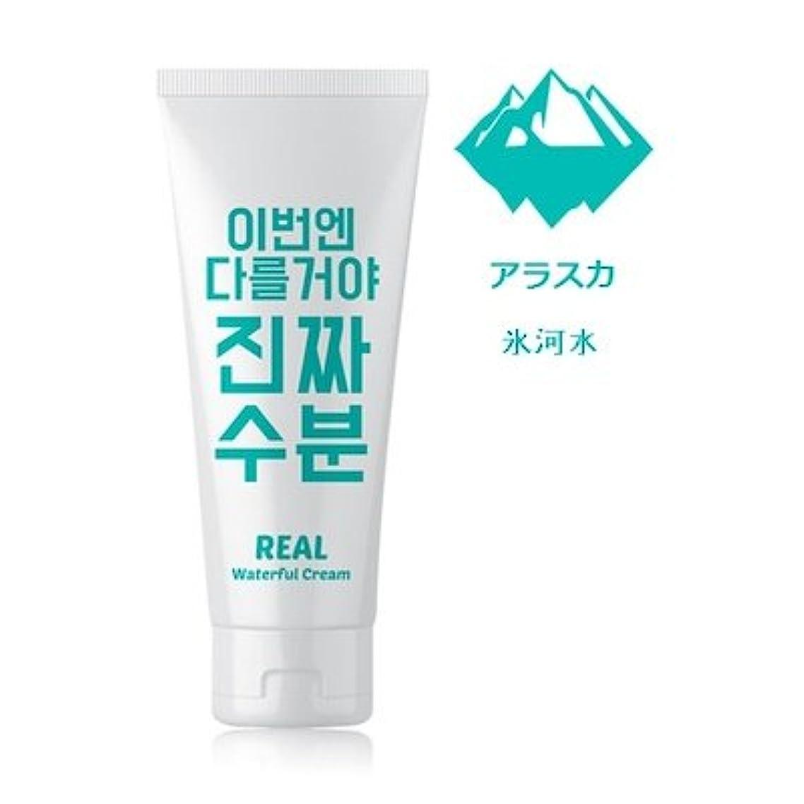 ホーム味わうあえてJaminkyung Real Waterful Cream/孜民耕 [ジャミンギョン] 今度は違うぞ本当の水分クリーム 200ml [並行輸入品]
