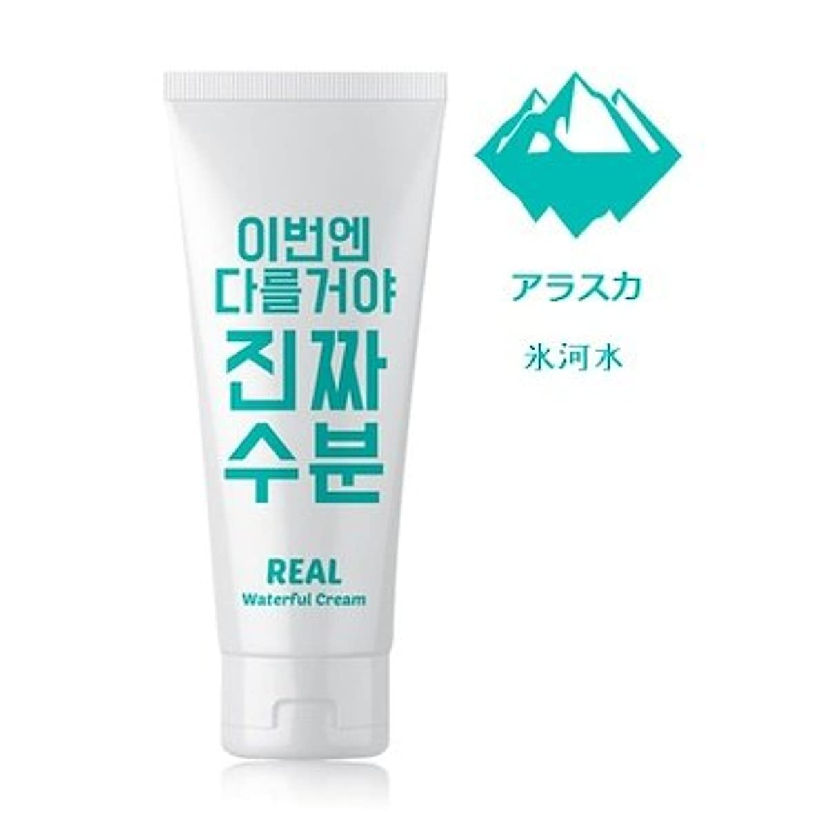 海港ナチュラルつかいますJaminkyung Real Waterful Cream/孜民耕 [ジャミンギョン] 今度は違うぞ本当の水分クリーム 200ml [並行輸入品]