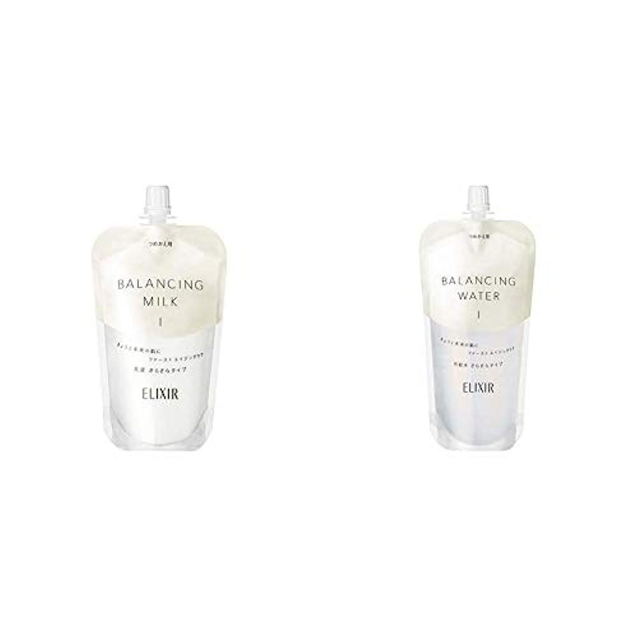 極貧ハブブ従事するエリクシール ルフレ バランシング ミルク 乳液 1 (さらさらタイプ) (つめかえ用) 110mL & ルフレ バランシング ウォーター 化粧水 1 (さらさらタイプ) (つめかえ用) 150mL