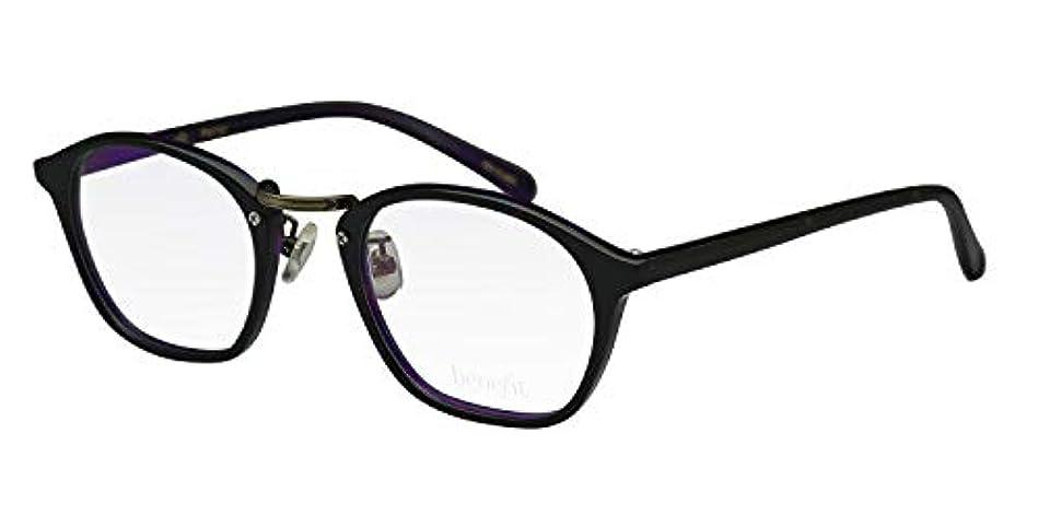 鯖江ワークス(SABAE WORKS) 老眼鏡 ウェリントン おしゃれ 鼻あて付き Pansy2 +0.50