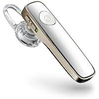 Plantronics M180 Wireless Bluetooth Headset for All Smartphones - Gold [並行輸入品]