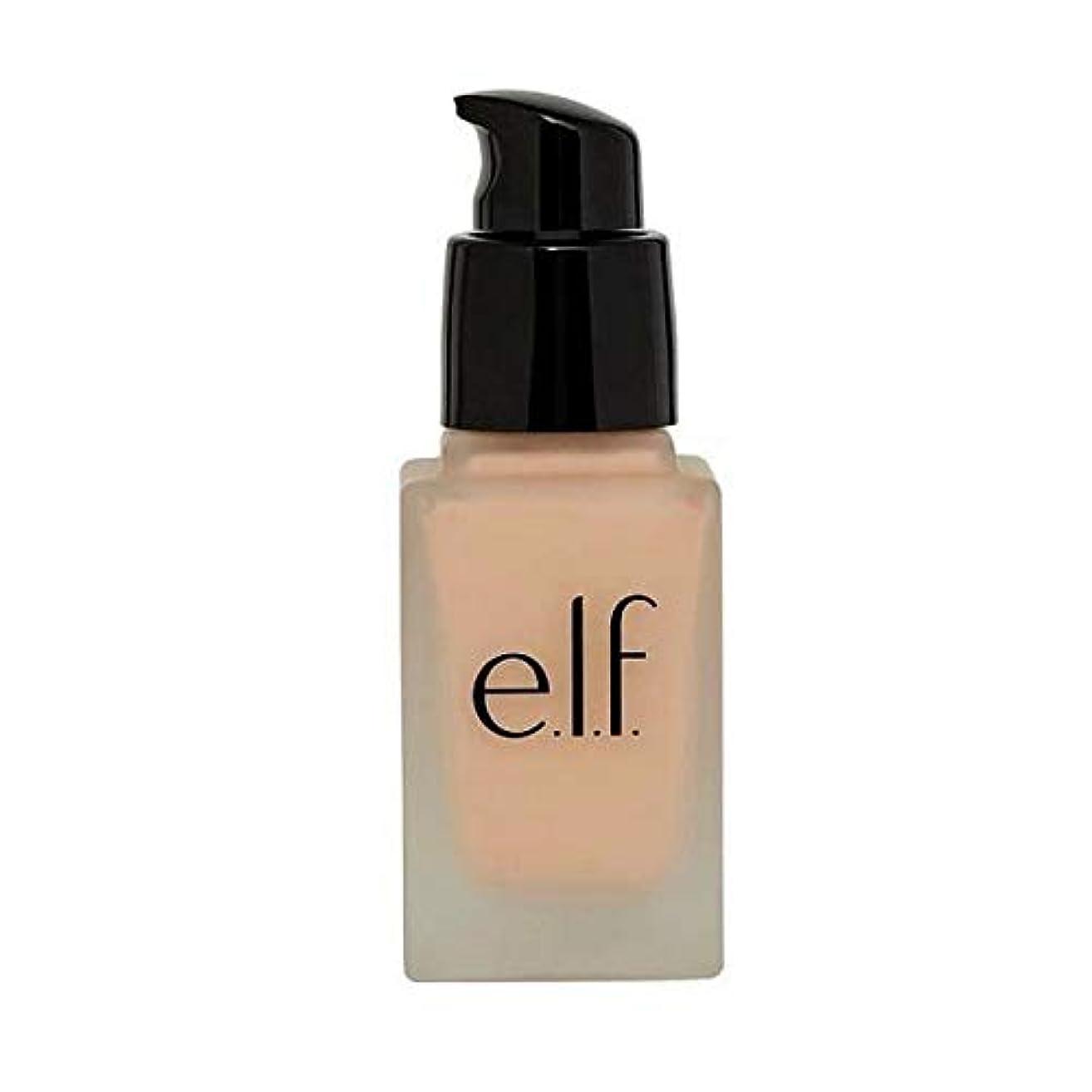 ドロー落ち着いたデンマーク[Elf ] エルフ。完璧な基礎アラバスター - e.l.f. Flawless Foundation Alabaster [並行輸入品]