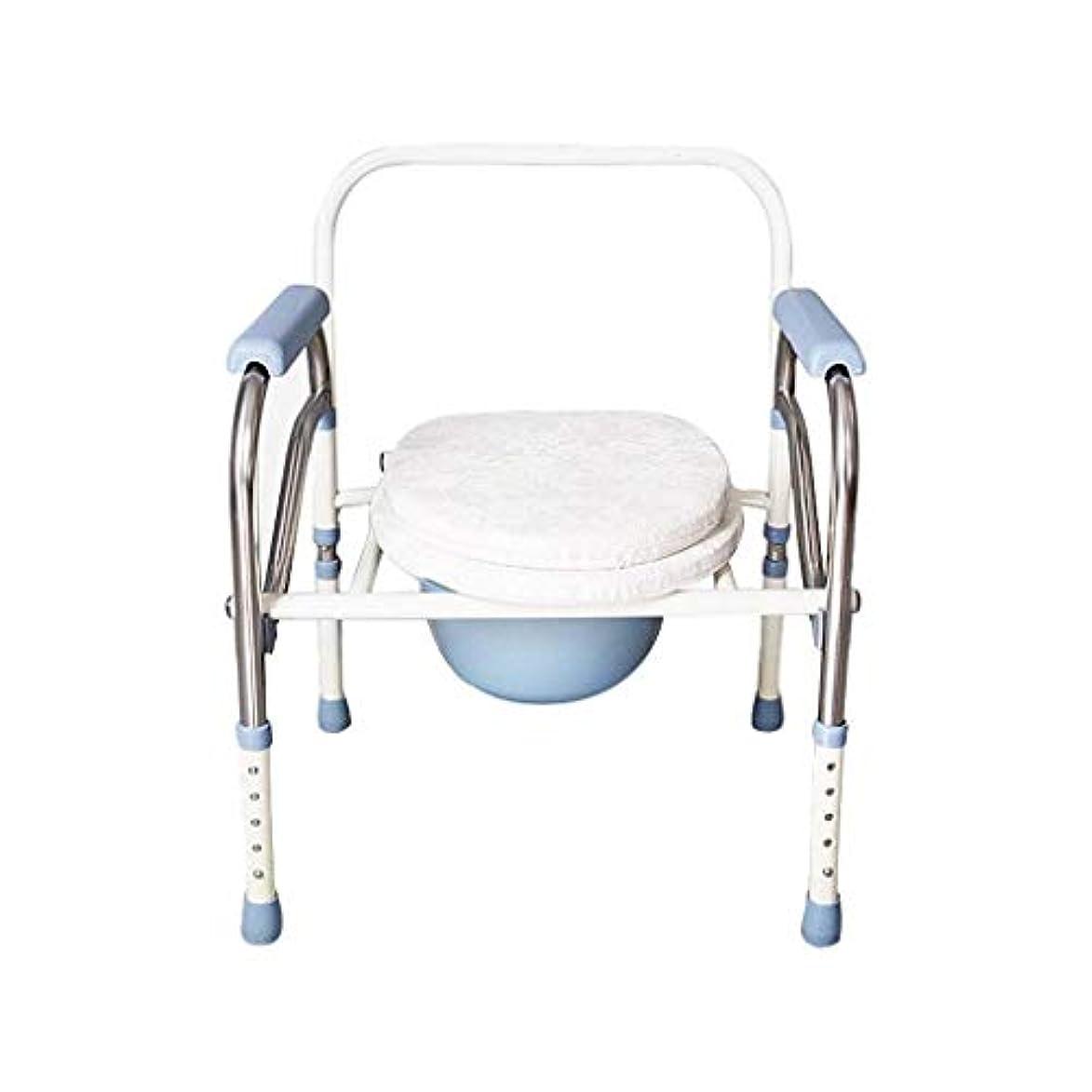 手当同級生酔った折りたたみバスルームシャワースツール便器椅子パッド付き便座トイレトイレバスルームスツール滑り止め調節可能な高さ高齢者妊娠中の女性障害者
