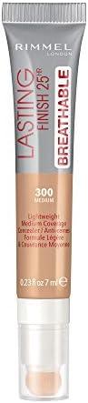 Rimmel London Lasting Finish Breathable Concealer, 300 Medium