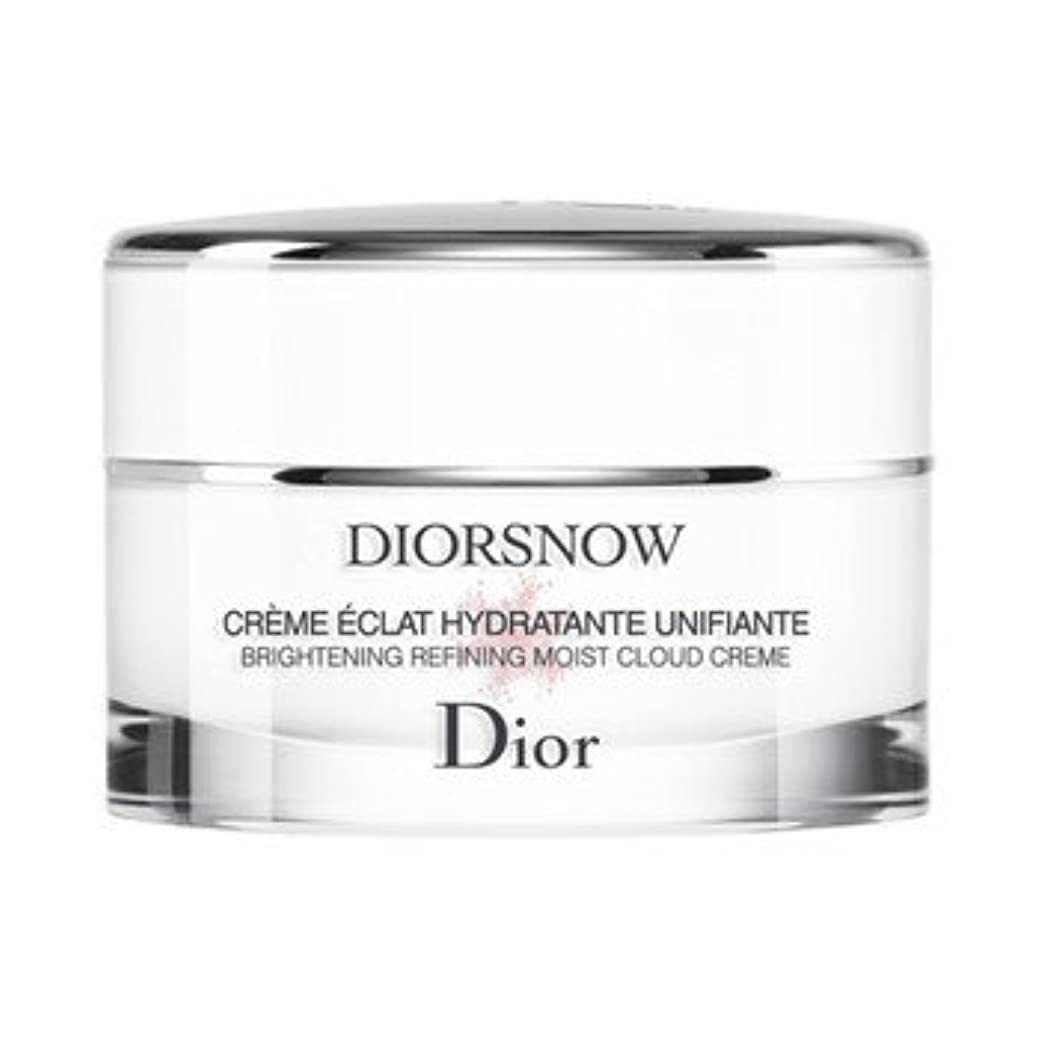 写真を描く飲み込むルーフChiristian Dior クリスチャン ディオール DIOR SNOW ディオール スノー ブライトニング モイスト クリーム 50ml (医薬部外品)【国内正規品】