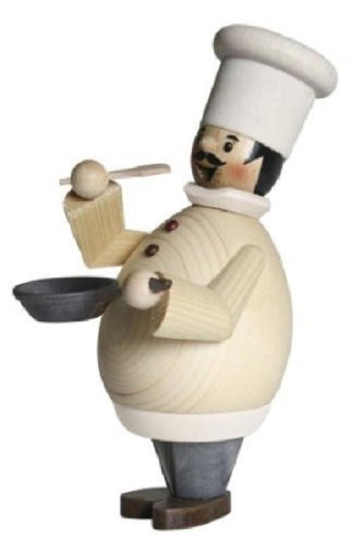 パトロール邪魔する銀Happy Chef Cook GermanクリスマスIncense Smoker Cooking Burnerドイツ製