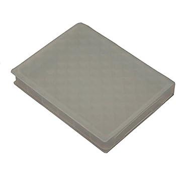 Cyberplugs 2.5 インチ SSD HDD ハードドライブストレージボックス 保護ケース 防塵 抗湿 クリアブラック