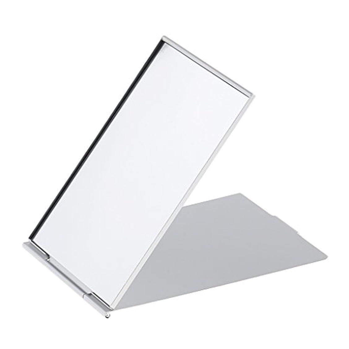 の間で売り手歩くCUTICATE メイクミラー 軽量 折りたたみ ポケット コンパクトミラー トラベル 化粧鏡 全3サイズ - #3