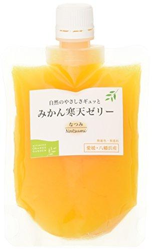 国産 愛媛産 みかん寒天ゼリー なつみ 170g