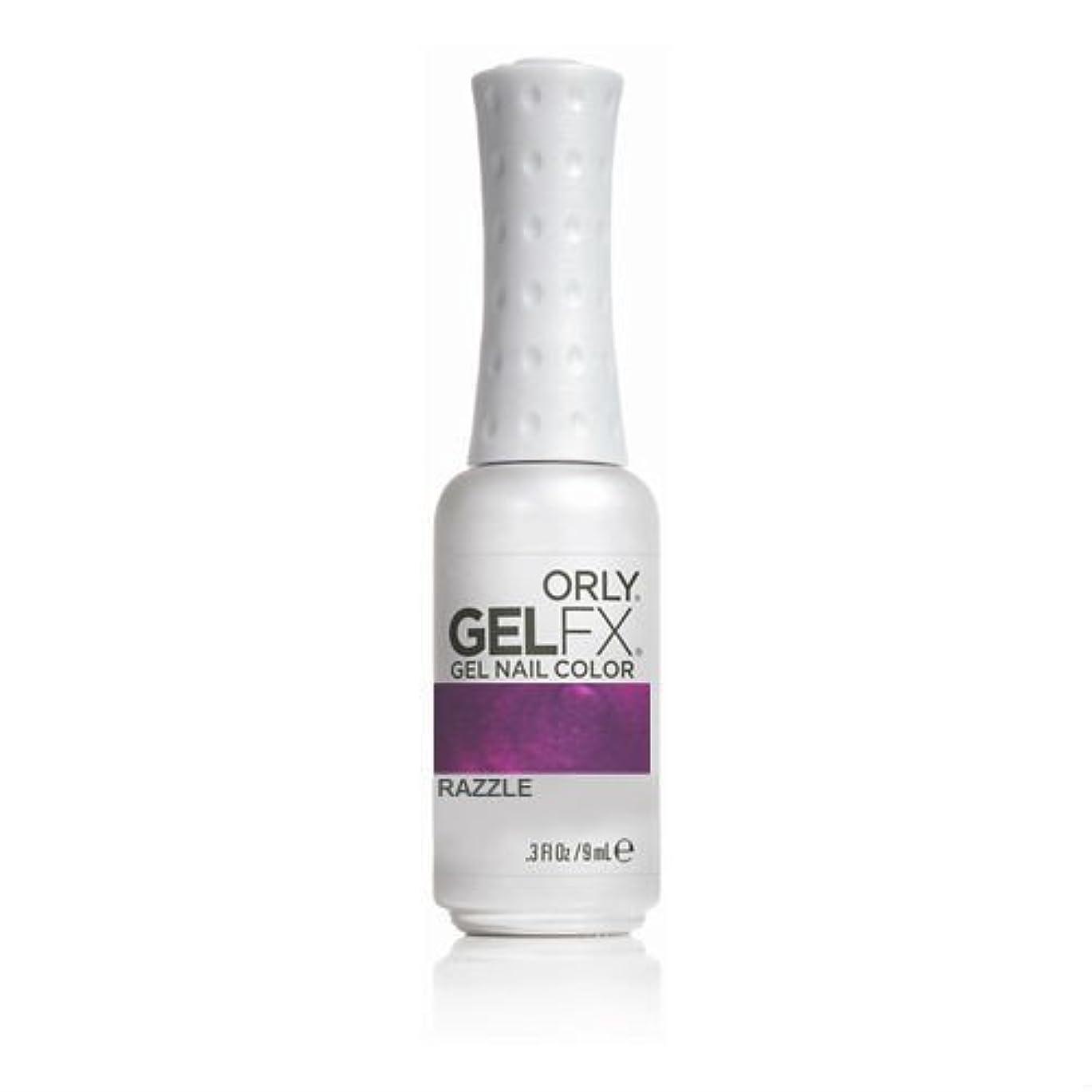 手当詐欺師歌Orly GelFX Gel Polish - Razzle - 0.3oz/9ml
