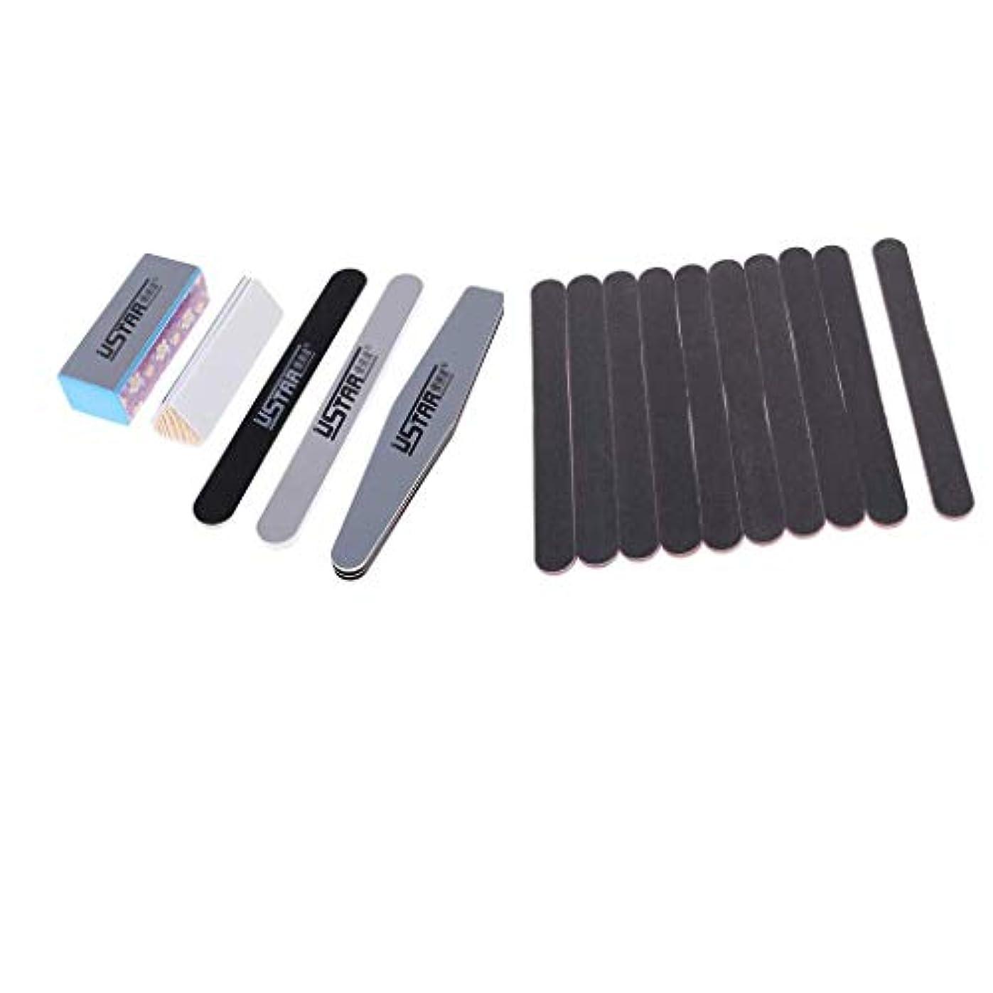 失われたカバー軽蔑する15個のDIYモデル研磨ツールセット研磨スティックを構築するための研磨スティックセット