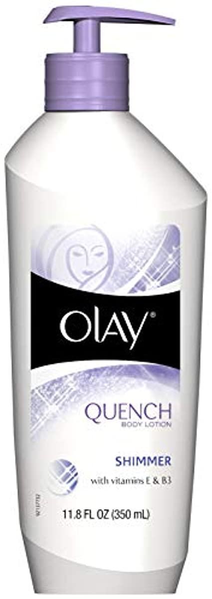 攻撃的優先権公然とOlay Body Quench Body Lotion, Deep Moisture 11.8 fl oz (350 ml) (並行輸入品)