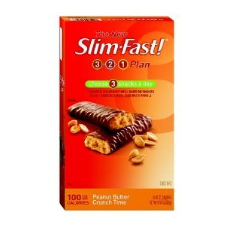 選択するポーチ支配するDiet Bar - 100 Calorie, Peanut Butter Crunch Time, 24-Count - ダイエット バー ピーナツバターバー 100カロリ - 24枚入り (海外直送品)