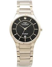 [テクノス]TECHNOS 腕時計 3針 デイト チタン T9653IB メンズ