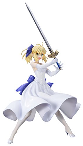 Fate/stay night [Unlimited Blade Works] セイバー 白ドレスVer. 1/8スケール PVC製 塗装済み 完成品 フィギュア 再販