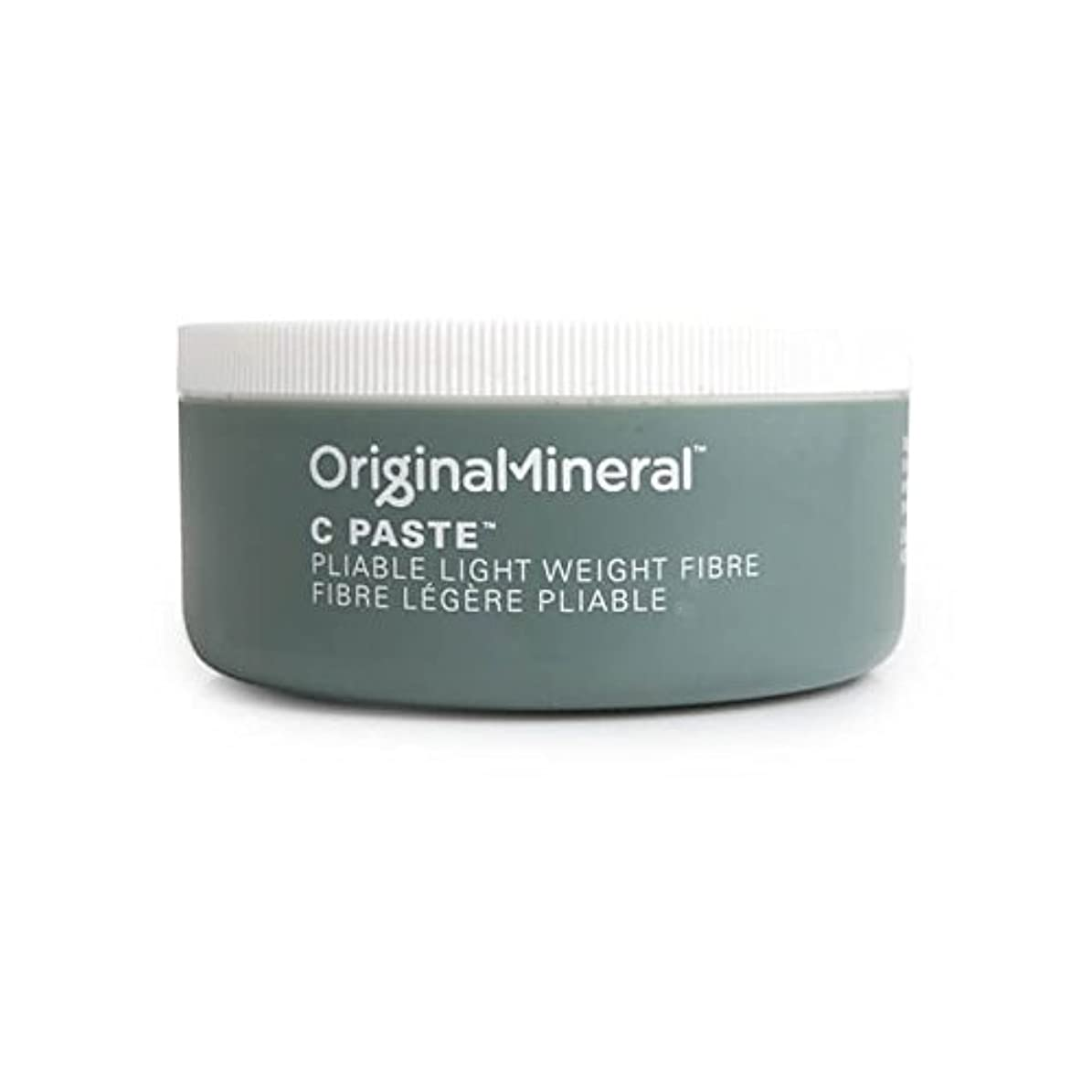 乳白色ポーターバッジオリジナル&ミネラルの-ペーストヘアワックス(100グラム) x2 - Original & Mineral C-Paste Hair Wax (100G) (Pack of 2) [並行輸入品]